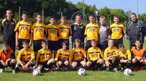 saison 2008/2009 - Equipe 13 Ans