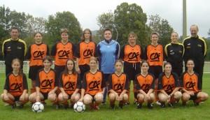 saison 2004/2005 - Equipe Senior Féminine